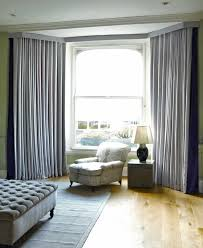 Modern Bay Window Curtains Decorating Modern Bay Window Curtains J53 In Stylish Home Decorating