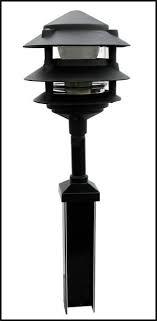 low voltage vinyl fence post lights new 20 design for low voltage fence lighting landscape design ideas