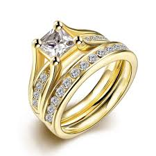 big ladies rings images 2018 amazing 18k yellow gold plated rings jewelry big zircon with jpg