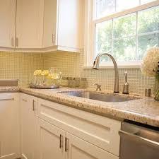 White Cabinets Granite Countertops by Granite Kitchen Backsplash Design Ideas