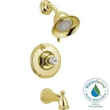 Adjust Delta Shower Faucet Delta Victorian 1 Handle 3 Spray Tub And Shower Faucet Trim Kit