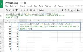 how to select sheets how to compare columns in google sheets