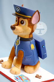 paw patrol chase dog cake cakecentral
