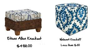 Home Goods Ottoman by Domesticated Diva Home Sweet Home Knockout Vs Knockoff Interior