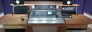 diy recording studio desk recording studio furniture fluid audio designs