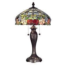 dale tiffany rose floor l dale tiffany tt12232 zenia rose table l fieldstone amazon com