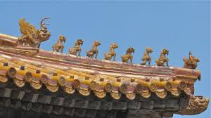 roof decorations sinophile chinese imperial roof decoration it is hard not