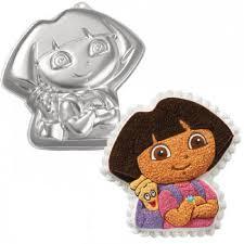 wilton dora the explorer cake pan 2105 6305 backpack ebay