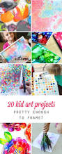 20 kid art projects pretty enough to frame activity ideas