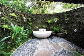 Outdoor Bathrooms Ideas by Outdoor Bathroom Plans Latest Faceted House A Modern Rear