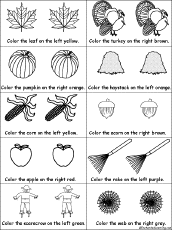 drawing and coloring worksheets fall autumn k 3 theme page at