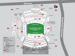 University Of Tennessee Parking Map by Gamecocksonline Com South Carolina Gamecocks Official Athletic