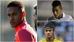 hairstyles through the years the changing faces and hairstyles of neymar barcelona and