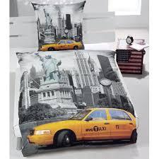 New York Bed Set New York City Bedding Duvet Cover Sets Usa Skyline Single