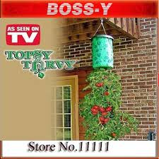 Upside Down Tomato Planter by Wholesale Topsy Turvy Planter Buy China Wholesale Topsy Turvy