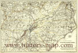 Map Of Georgia And Tennessee by Tennessee Alabama And Georgia Railroad