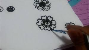 easy simple mehndi mehendi mehandi tattoo henna design tutorial