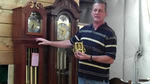 Emperor Grandfather Clock Value The Clock Specialist Oiling Your Clock Youtube