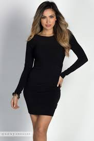 Draped Black Dress Valerie