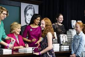 Barnes And Noble Union Square Nyc A Thousand Hillary Clinton Fans Turn Out For Her First Book