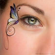 painting butterfly eye great far painting idea for