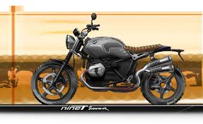 bmw motorcycle scrambler bmw unleashes r ninet scrambler bike