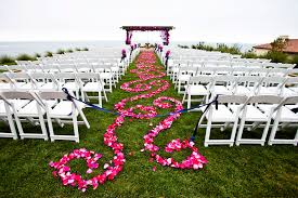 beautiful and romantic petal wedding aisle runners stylish eve