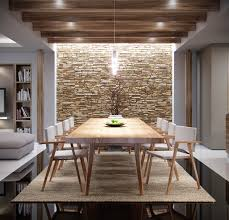 Dining Room Accent Wall by The Natural Side Of Neutral Color Palettes 5 Inspiring Homes