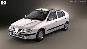renault hatchback renault megane 5 door hatchback 1995 by 3d model store humster3d