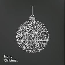 modern christmas vector outline christmas tree modern christmas background with