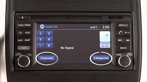 nissan xterra 2015 2015 nissan xterra audio system with navigation youtube