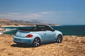 blue volkswagen convertible das neue volkswagen beetle cabriolet 60s edition vwvortex