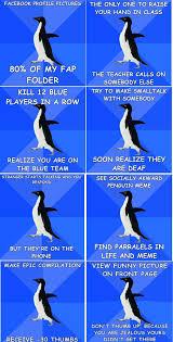 Socially Awkward Penguin Memes - socially awkward penguin