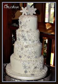16 best snowflake wedding cakes images on pinterest snowflake