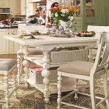 paula deen kitchen design paula deen home counter height kitchen gathering table with storage