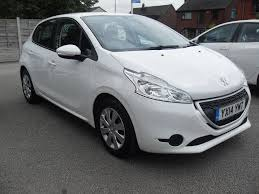 peugeot car garage used peugeot 208 hatchback 1 4 hdi fap access 5dr in wigan