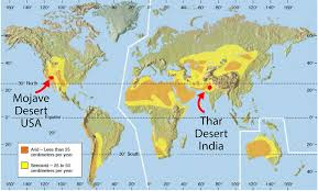 us map equator maps thar the great indian desert