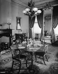 victorian dining room with an elaborate pictures getty images