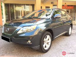lexus used suv 2012 2012 lexus rx350 for sale in malaysia for rm177 800 mymotor