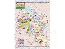 map of rajkot product political maps rajkot taluka map