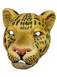 jaguar costume leopard face masks party superstores