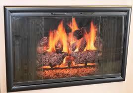 100 glass fireplace doors zero clearance fireplace doors