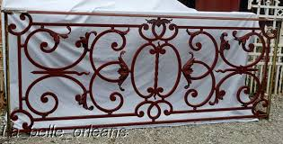 magnificent french wrought iron balcony what a design for sale
