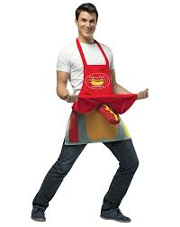 mens costume hot dog vendor mens costume