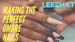 lechat gelee nail system review making the perfect ombre nails