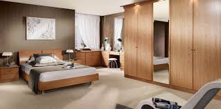contemporary siena natural oak fitted bedroom strachan