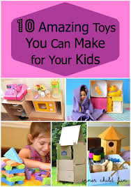 Homemade Christmas Gifts For Toddlers - 10 amazing toys you can make for your kids homemade toys toy
