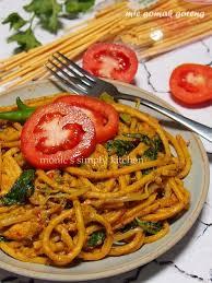 membuat mie gomak goreng mie gomak goreng noodles pinterest noodle pasta and food