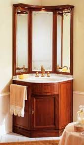 Corner Bathroom Mirror Corner Vanities For Small Bathrooms Bathroom Corner Vanity 1