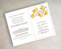 bi fold wedding program navy blue polka dot bi fold wedding programs ceremony program